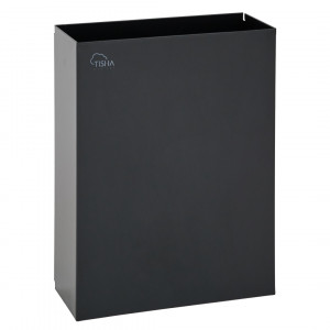 Paper Towels Waste Bin 25L Metal Black