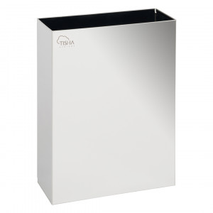Paper Towels Waste Bins 16L Stainless Steel Mirror Finish