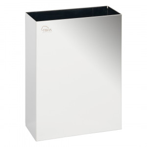 Paper Towels Waste Bin 25L Stainless Steel Mirror Finish