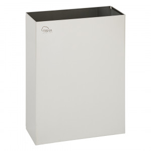 Paper Towels Waste Bin 25L Stainless Steel Brushed Finish