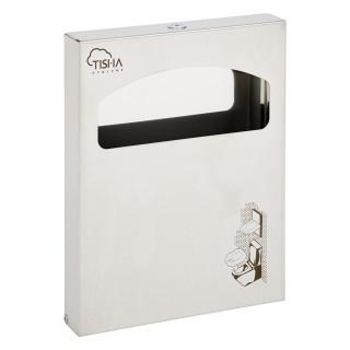 1/4 Fold Toilet Seat Covers Dipsenser Brushed Finish