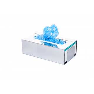 Disposable Shoe Cover and Glove Boxes Dispenser Mirror Finish