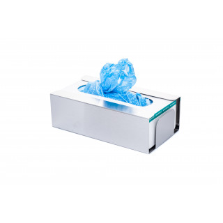 Disposable Shoe Cover and Glove Boxes Dispenser Brushed Finish