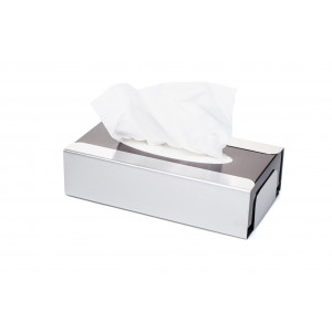 Facial Tissues Dispenser Brushed Finish