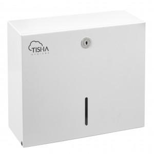 Z-Fold Paper Towels Dispenser Metal White
