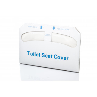 1/2 Fold Premium Disposable Paper Toilet Seat Covers - Box of 250