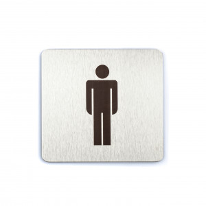 Male / Gents Toilet Door Sign