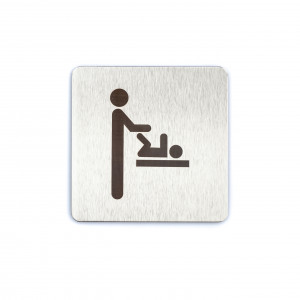 Baby Changing Facilities Door Sign